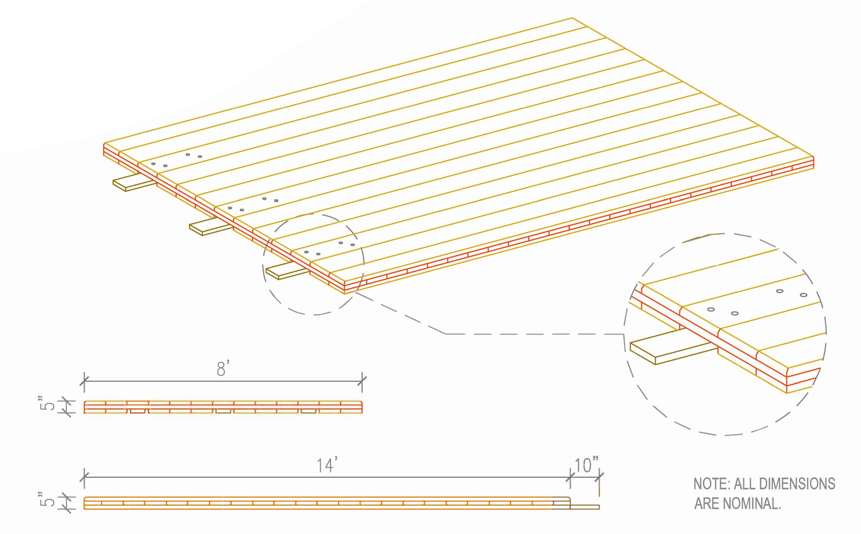 terralam 300 clt access mat